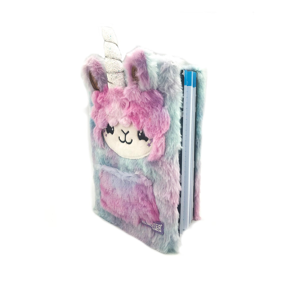 Hamster London Llama Diary for Kids age 3Y+ (Pink)