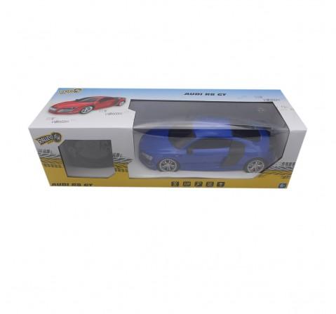 Ralleyz 1:18 27Mhz Audi R8 Remote Control Car Blue, 6Y+