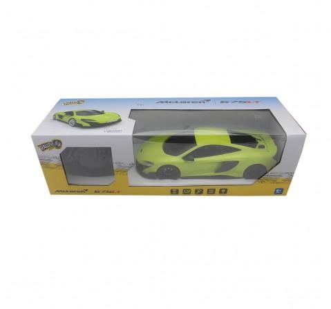 Ralleyz 1:18 27Mhz Mclaren Remote Control Car Green, 6Y+