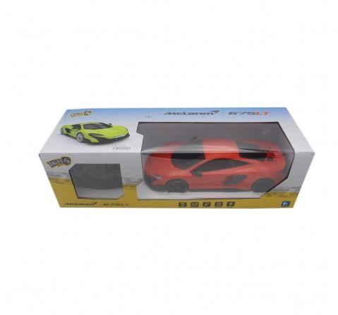Ralleyz 1:18 27Mhz Mclaren Remote Control Car Orange, 6Y+