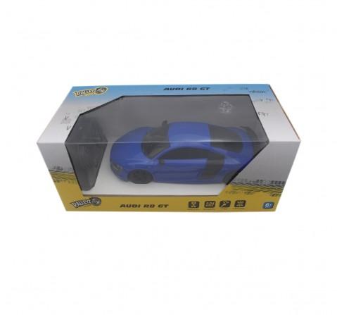 Ralleyz 1:24 27Mhz Audi R8 Gt Remote Control Car Blue, 6Y+