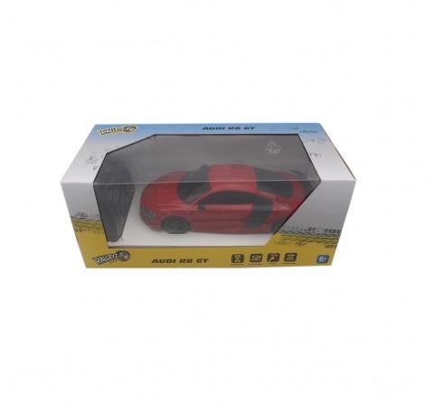 Ralleyz 1:24 27Mhz Audi R8 Gt Remote Control Car Red, 6Y+