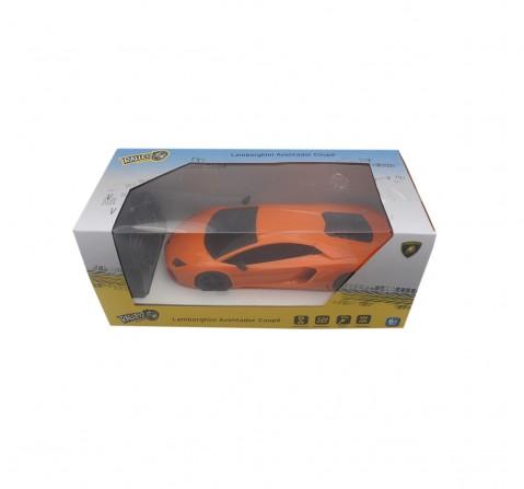 Ralleyz 1:24 27Mhz Lamborghini Remote Control Car Orange, 6Y+