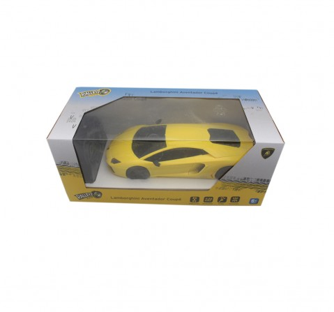 Ralleyz 1:24 27Mhz Lamborghini Remote Control Car Yellow, 6Y+