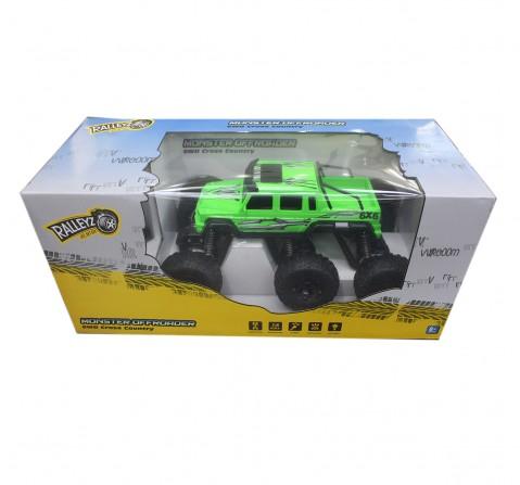Ralleyz 1:8 6Wd Remote Control Truck Green, 6Y+