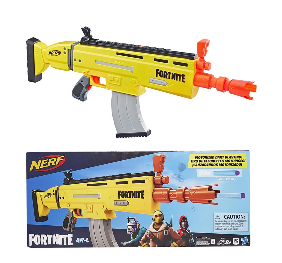 Nerf Elite Fortnite Ar-L Dart Blasters for Kids age 8Y+