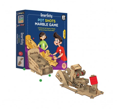 Smartivity Pot Shot Marble Game STEM for Kids age 8Y+