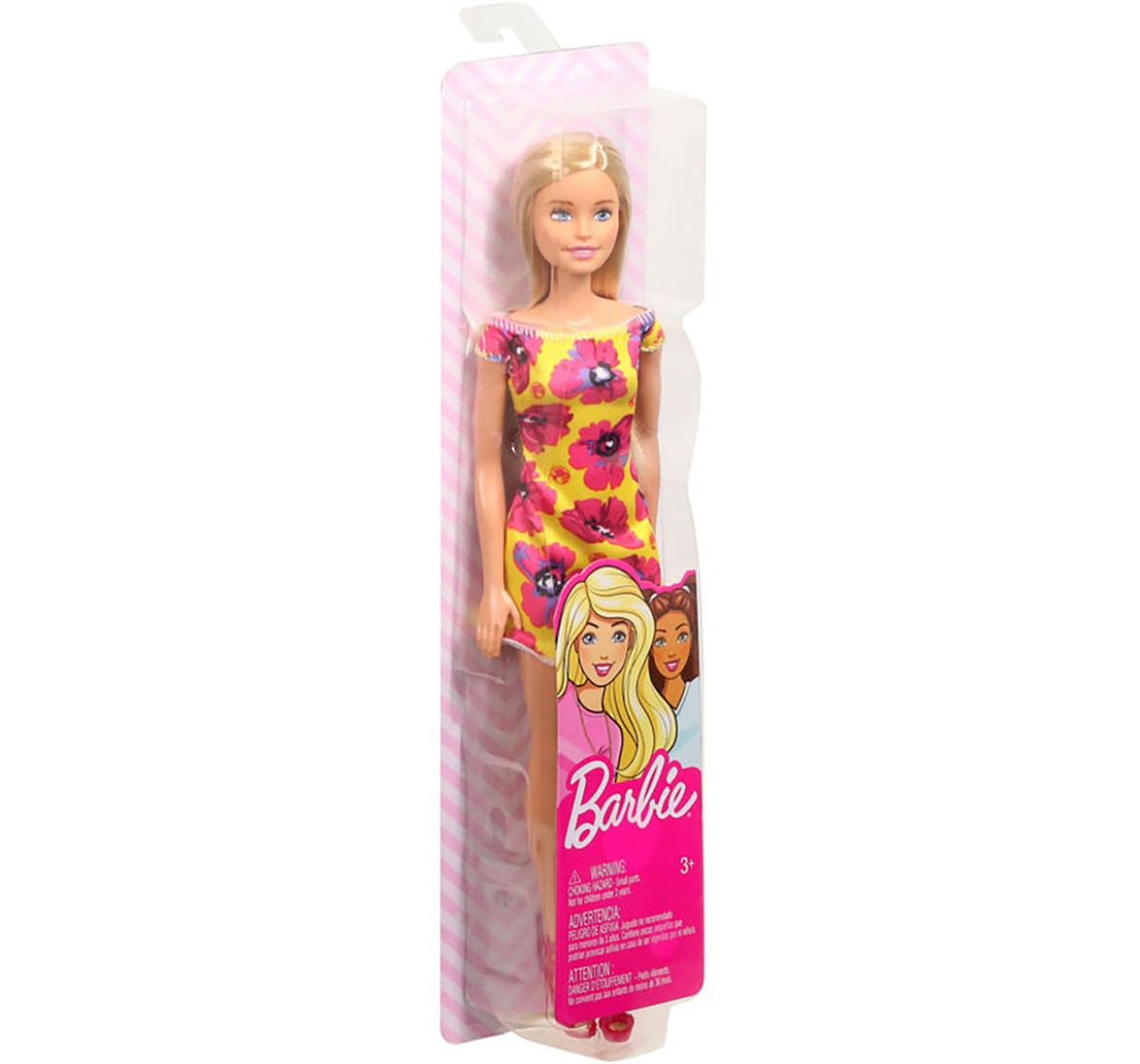 Barbie Doll With Floral Dress, Dolls & Accessories ( Assorted) for Girls age 3Y+ (Any one doll)