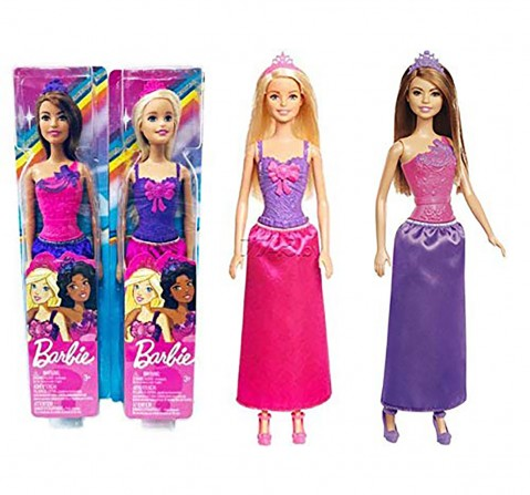 Barbie Princess Doll, Dolls & Accessories for Girls age 3Y+ (Assorted)