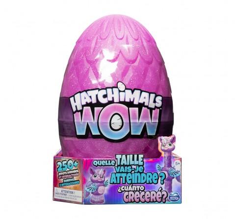 Hatchimals Hatchiwow Species Interactive Soft Toys for Girls age 5Y+ - 30.8 Cm