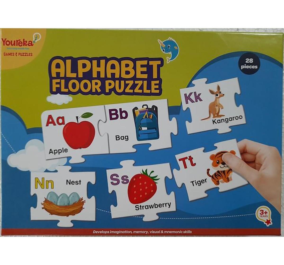 Youreka Alphabet Floor Puzzles for Kids age 3Y+