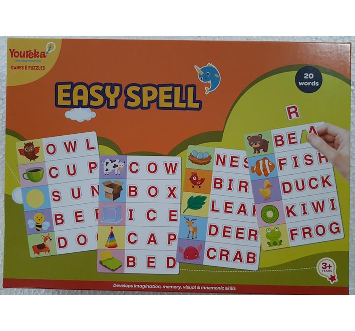 Youreka Easy Spell Puzzle for Kids age 3Y+