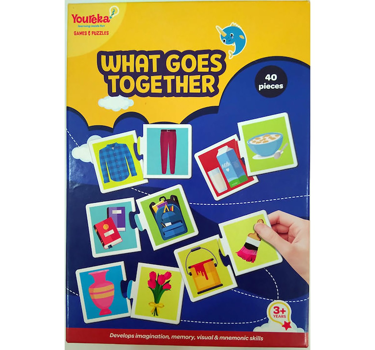 Youreka What Goes Together Puzzle Puzzles for Kids age 3Y+