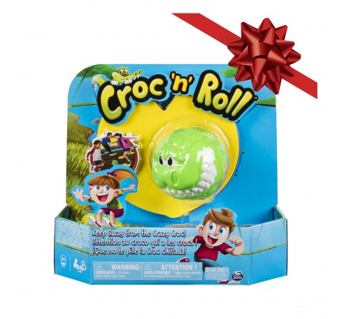 Spinmaster Games Croc N Roll Fun Family Game for Kids age 3Y+