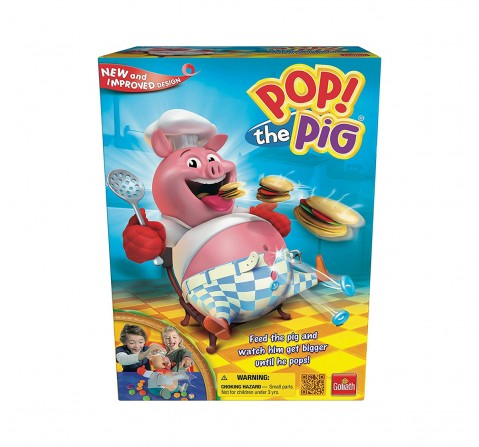 Goliath Games Pop The Pig  for Kids age 7Y+