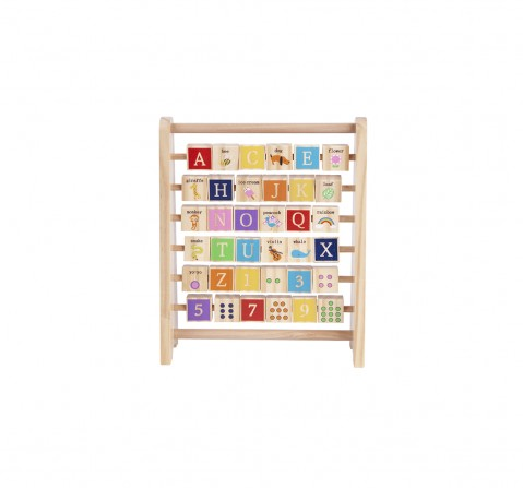 Shooting Star Wooden Abc-123 Abacus for Kids age 3Y+
