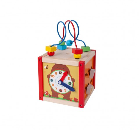 Shooting Star Wooden Small Cube for Kids age 3Y+