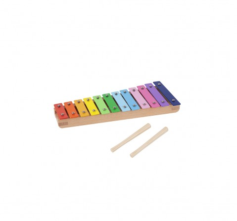 Shooting Star Wooden 12 Key Xylophone for Kids age 18M +