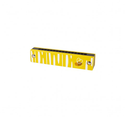 Shooting Star Wooden Harmonica for Kids age 18M +