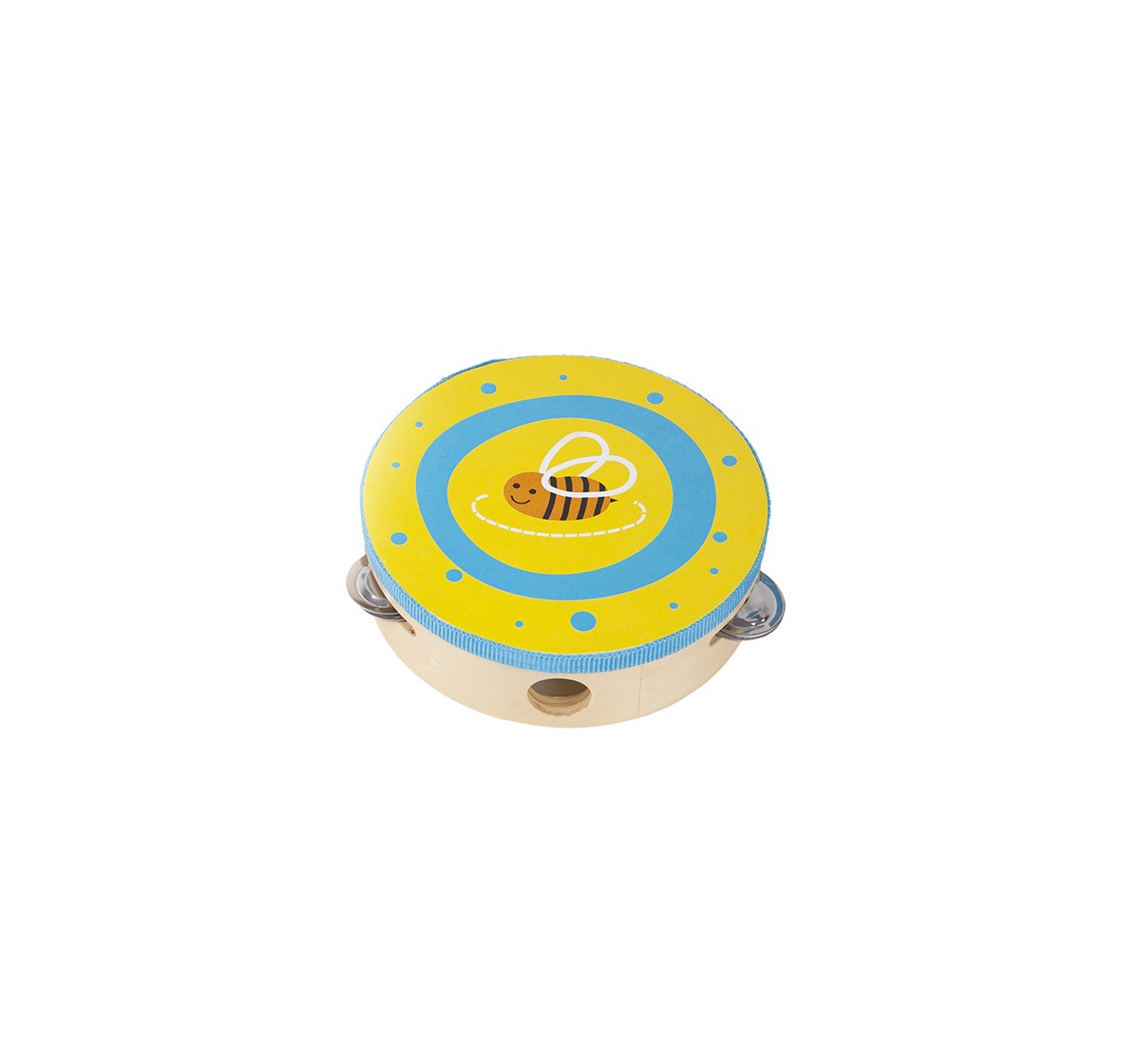 Shooting Star Wooden Tambourine Drum for Kids age 18M +