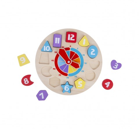 Shooting Star Shape Sorting Clock for Kids age 3Y+