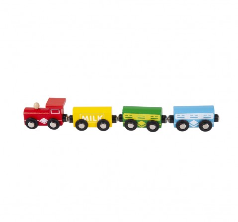Shooting Star Wooden Magnetic Train for Kids age 3Y+