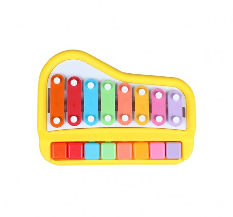 Shooting Star Xylophone Piano Set for Kids age 18M + (Yellow)