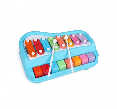 Shooting Star Xylophone Piano Set for Kids age 18M + (Blue)