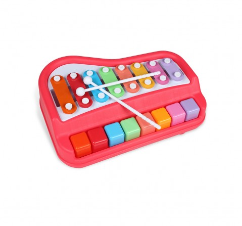 Shooting Star Xylophone Piano Set for Kids age 18M + (Pink)