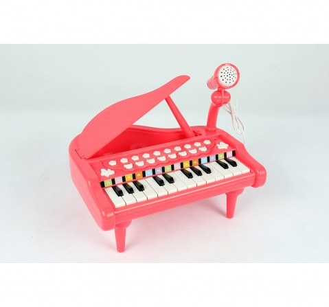 Shooting Star Table Top Piano for Kids age 3Y+ (Pink)