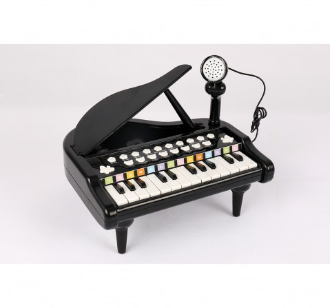 Shooting Star Table Top Piano for Kids age 3Y+ (Black)