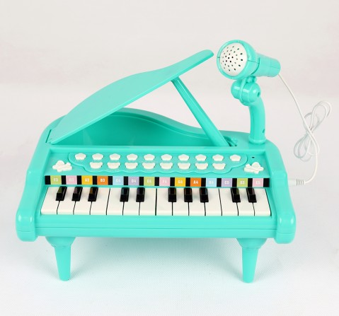 Shooting Star Table Top Piano for Kids age 3Y+ (Green)