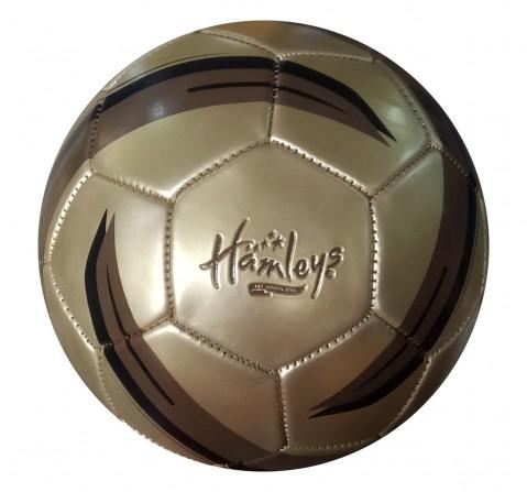 Hamleys Star Metallic Football for Kids age 1Y+ (Gold)