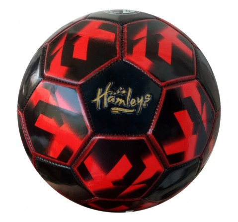 Hamleys Star PVC Football Red for Kids age 1Y+ (Red)