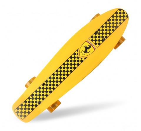 Ferrari Penny Board Skateboard -Skates and Skateboards for Kids age 5Y+ (Yellow)