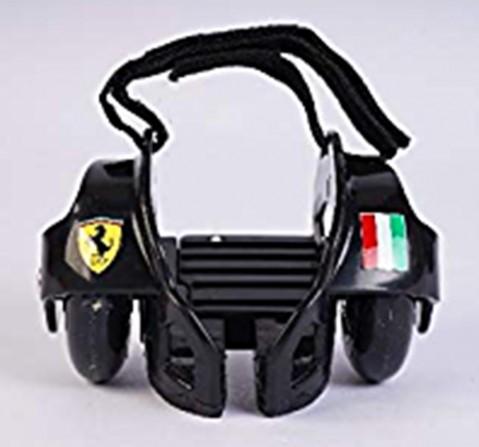 Ferrari Flashing Wheels Roller Skates Black, Unisex, 5Y+ (Black)