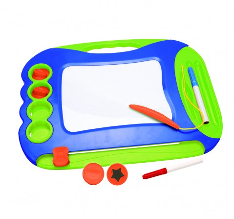 Youreka 2 in 1 Magic Writer - Blue Activity Table & Boards for Kids age 18M + (Pink)
