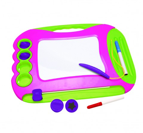 Youreka 2 in1 Magic Writer - Pink Activity Table & Boards for Kids age 18M + (Blue)