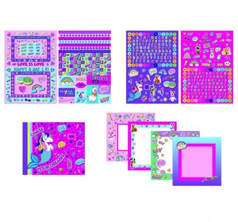 Youreka Scrapbk N Card Making Kit DIY Art & Craft Kits for Kids age 3Y+