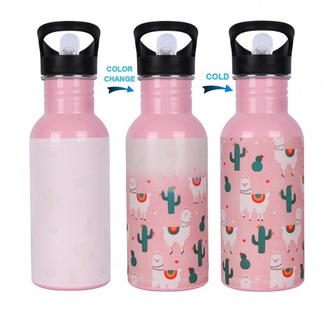 Hamleys Llama Pink Magic Bottle 600ml, 2Y+