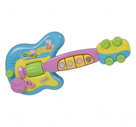 Peppa Pig - Electronic Guitar Guitars & String Instruments for Kids age 18M +