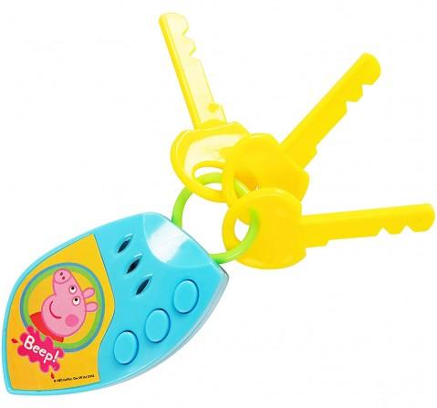 Peppa Pig Car Keys With Sound New Born for Kids age 3Y+