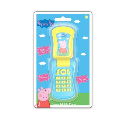 Peppa Pig Flip Phone Early Learner Toys for Kids age 3Y+