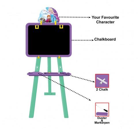 Disney Frozen 8 In 1 Easel Board Activity Set for Kids age 5Y+