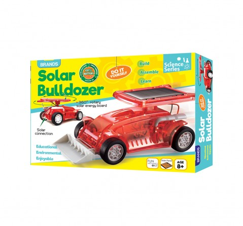 Play Craft Solar Powered Bulldozer Science Kits for Kids age 8Y+
