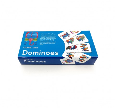 Frogg Dominoes Gond Games for Kids age 13Y+ (Blue)