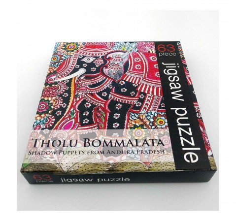 Frogg Tholubomaltta  63Pc Puzzles for Kids age 7Y+ (Black)