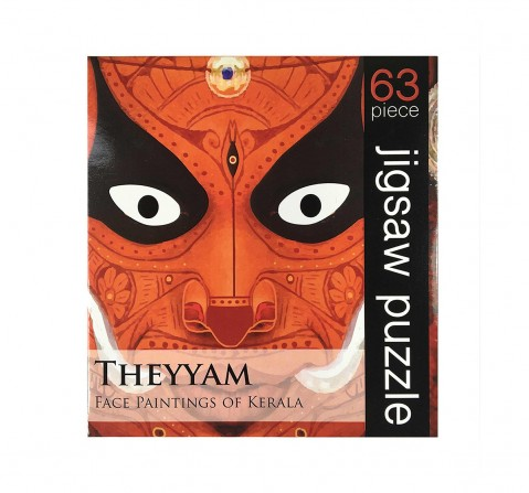 Frogg  Theyyam  63Pc Puzzles for Kids age 7Y+ (Red)