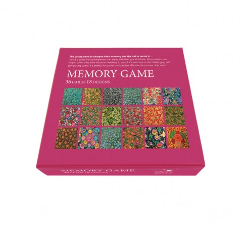 Frogg Memory Game Kashmir Games for Kids age 5Y+ (Purple)