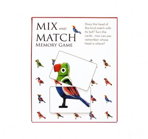 Frogg Mixmatch Varanasi Birds Games for Kids age 3Y+ (Yellow)